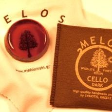 MELOS Kolophonium Cello Rosin Dark